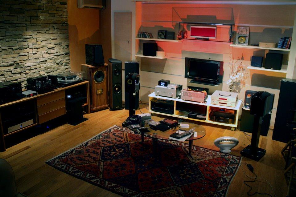 Saletta principale presso Centro Professionale Audio