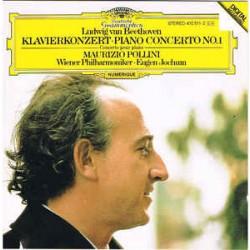 Ludwig van Beethoven - Maurizio Pollini, Wiener Philharmoniker, Eugen Jochum – Klavierkonzert · Piano Concerto No. 1
