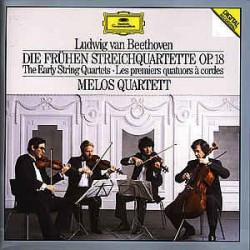 Ludwig van Beethoven, Melos Quartett – Die Frühen Streichquartette Op. 18