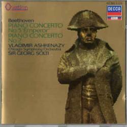 Beethoven - Ashkenazy, Solti, Chicago Symphony Orchestra– Piano Concerto No. 5 'Emperor' / Piano Concerto No. 2
