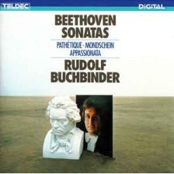 Beethoven, Rudolf Buchbinder – Beethoven Sonatas: Pathétique - Mondschein - Appassionata